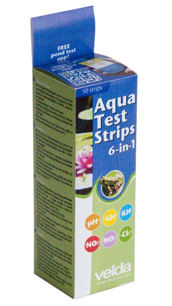 velda aqua teststrips 6-in-1 (50sts)