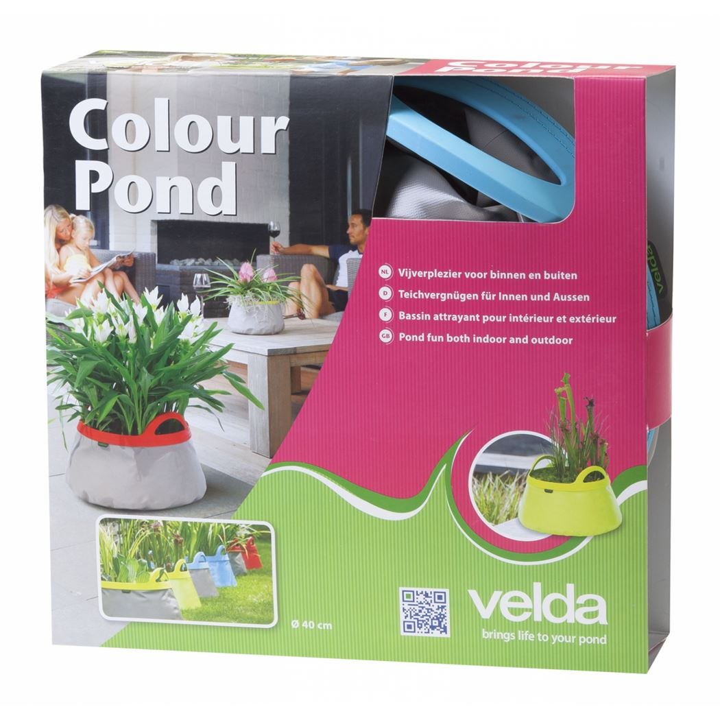 velda colour pond grey/lime