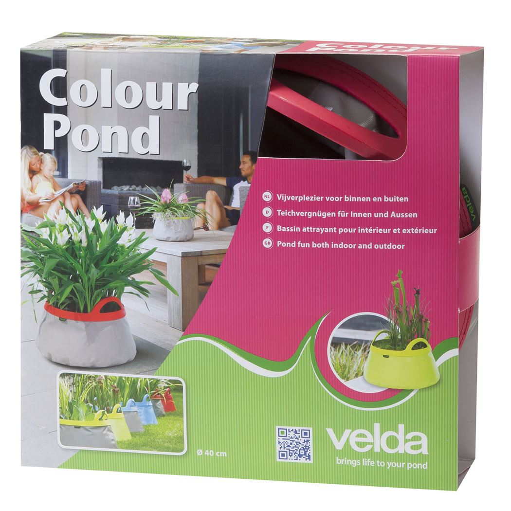 velda colour pond grey/pink