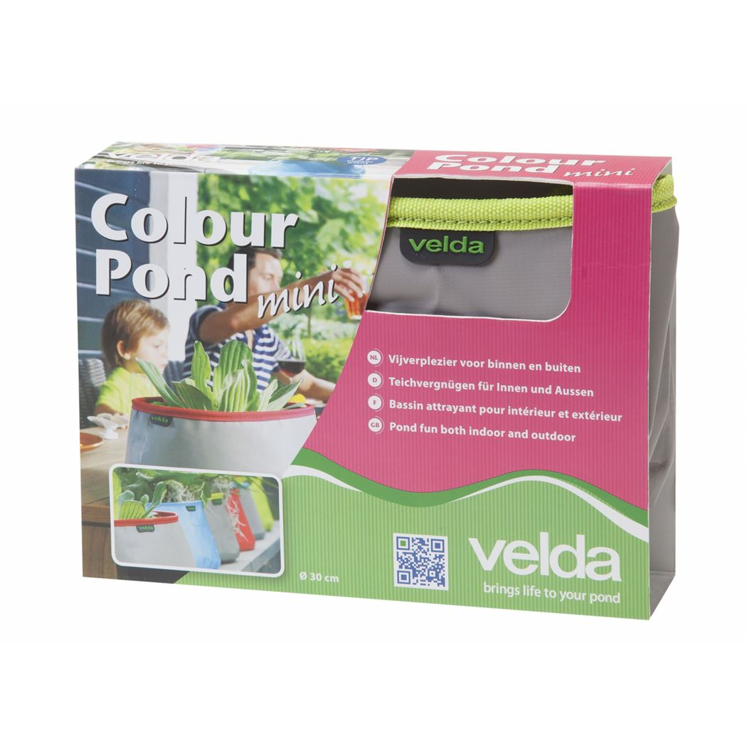 velda colour pond mini grey/lime