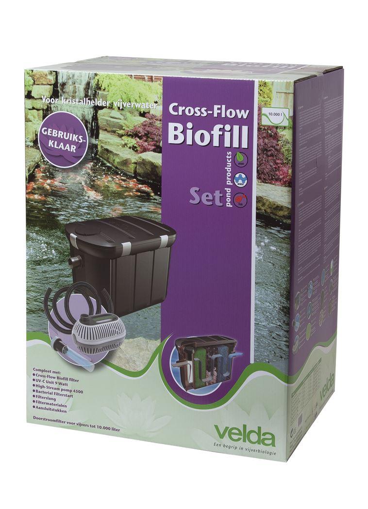 velda cross-flow biofilter complete set