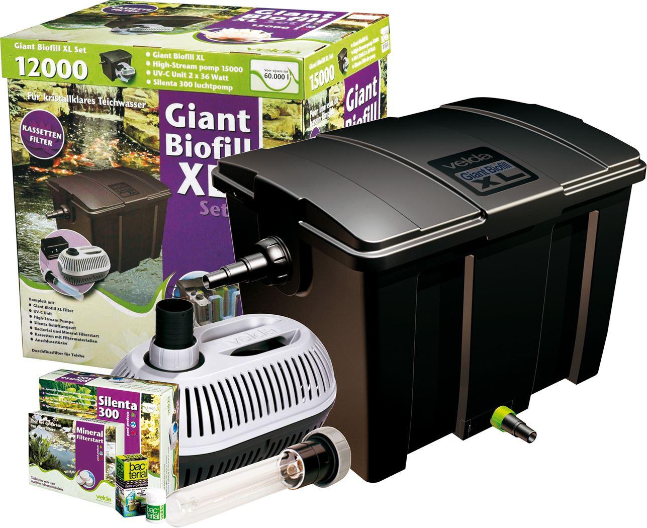 velda filter giant biofill xl set 40000