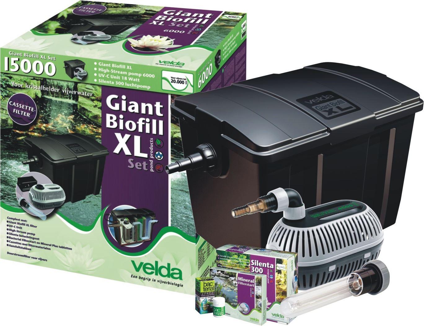 velda filter giant biofill xl set 60000