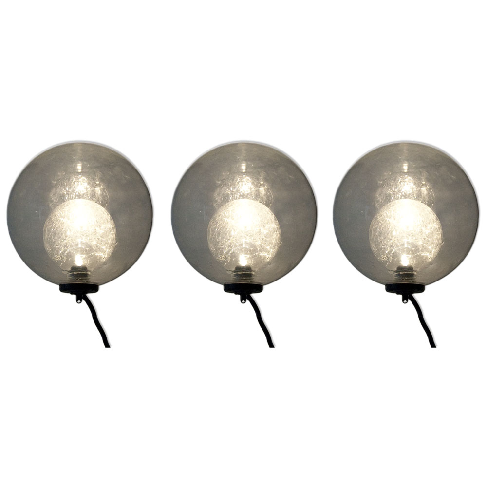 velda floating glass lights (3sts)