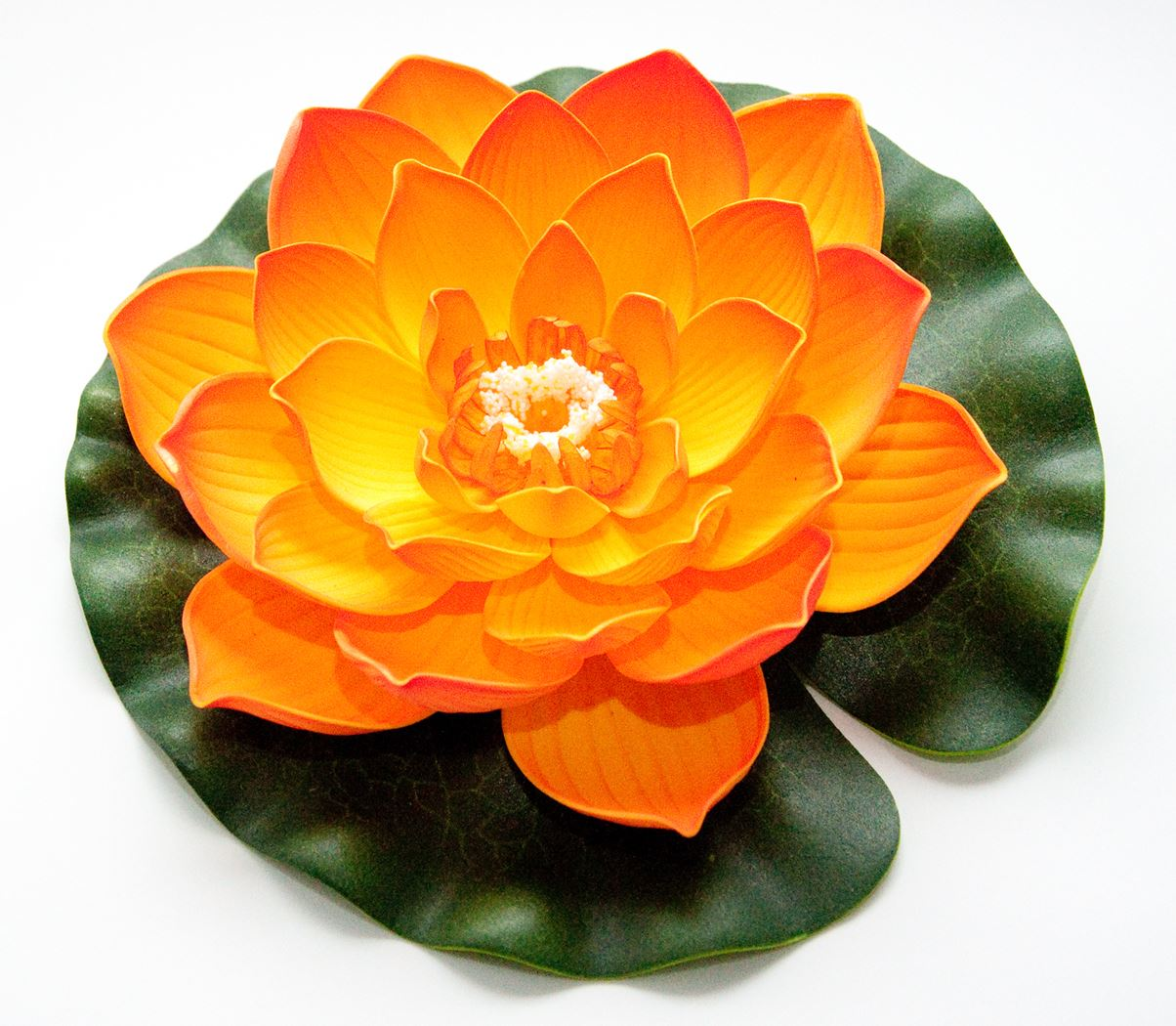 velda lotus foam orange