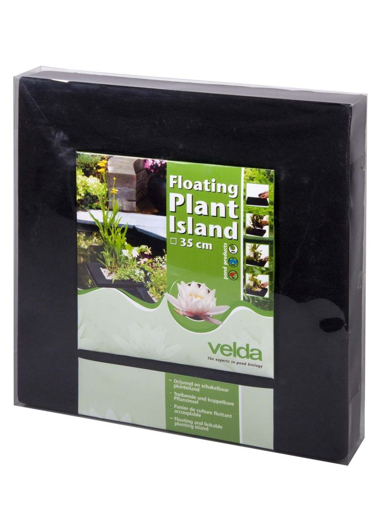 velda nylon planteiland (drijvend) vierkant