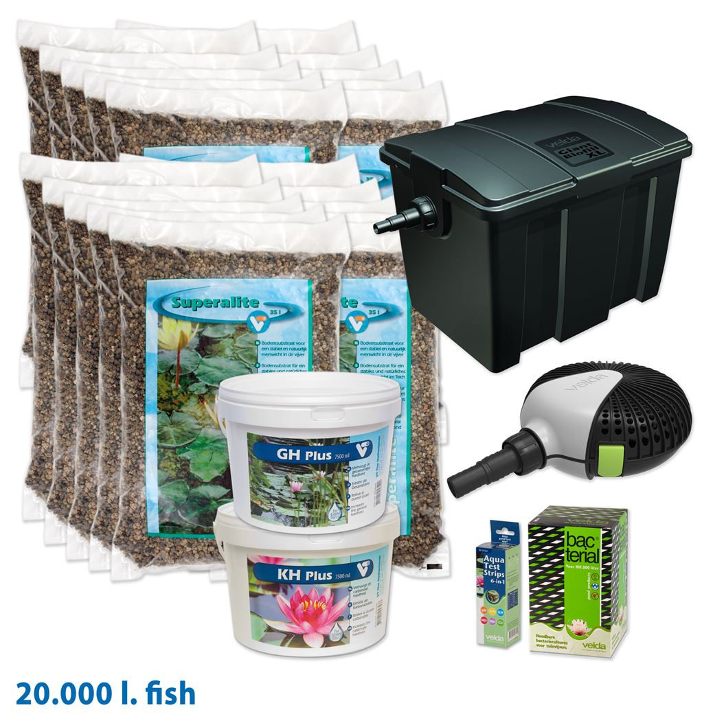 velda vijverstartpakket vissen