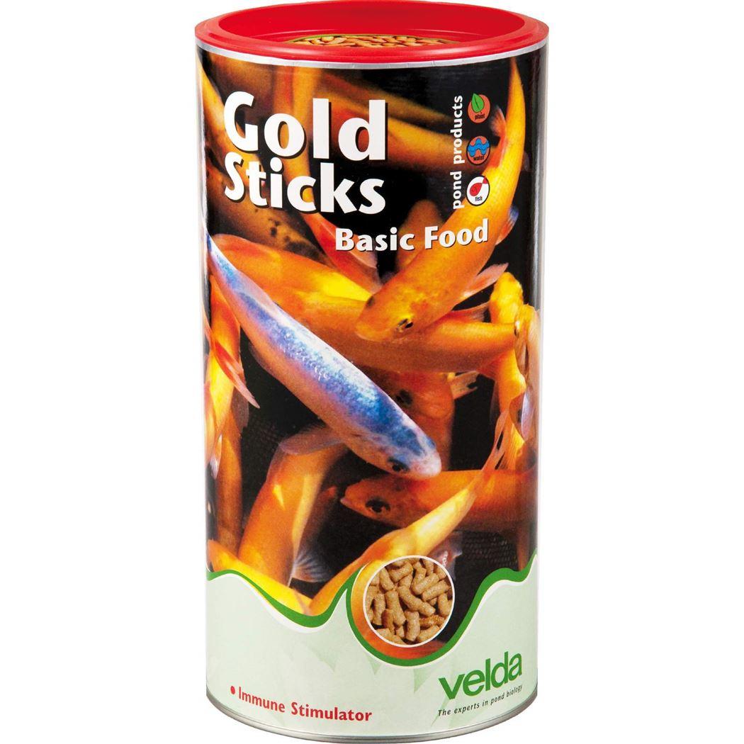 velda visvoer gold sticks basic food