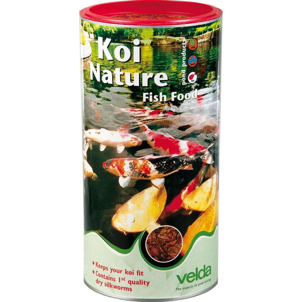 velda visvoer koi nature fish food