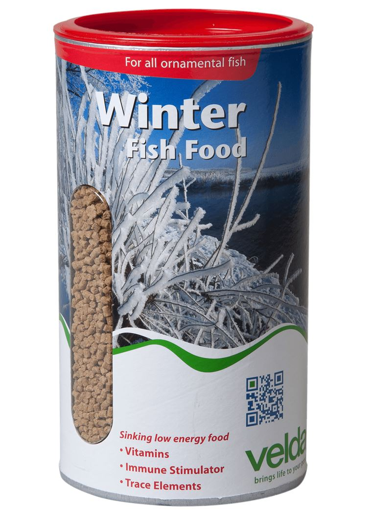 velda visvoer winter fish food