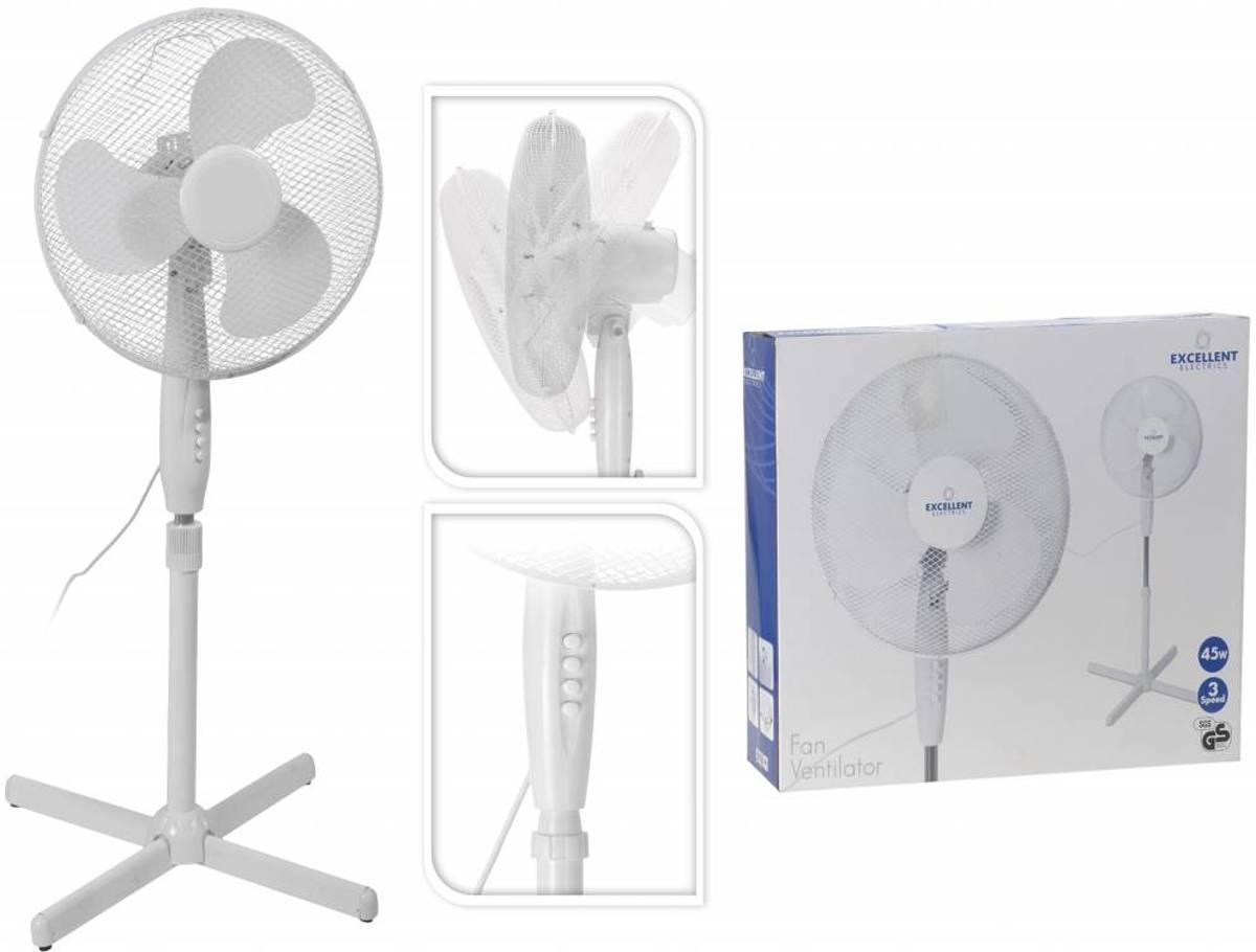 ventilator staand wit