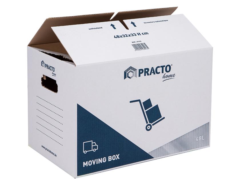 verhuisdoos karton zelfsluitend