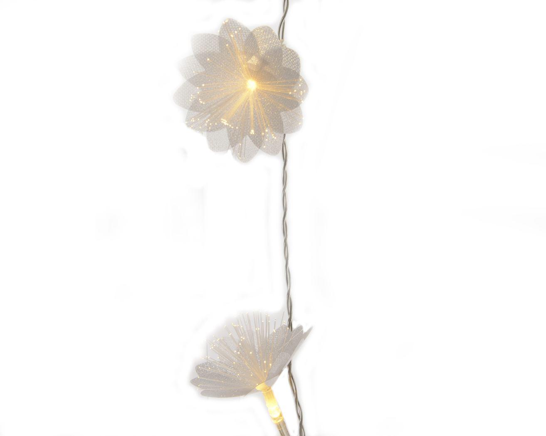 binnenverlichting fiberoptic bloemstreng led warmwit