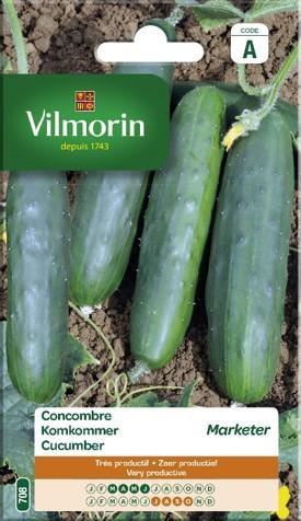 vilmorin komkommer marketer