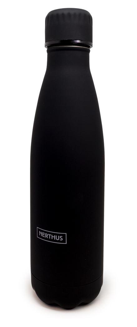 vin bouquet drinkfles vacu zwart (warm en koud)