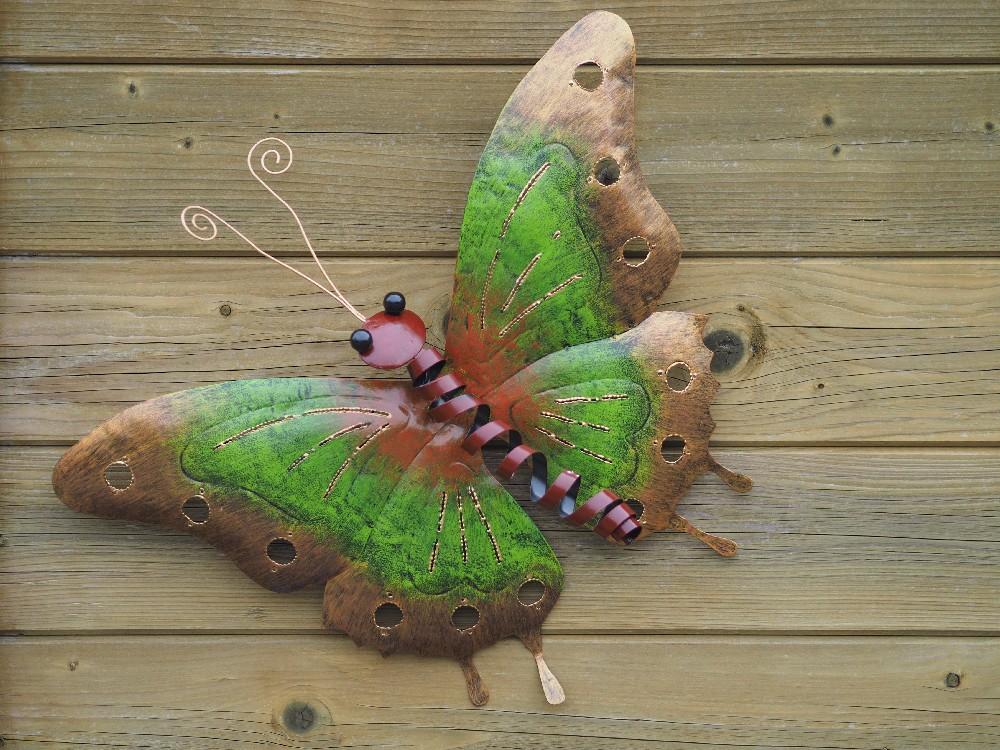 vlinder groen klein