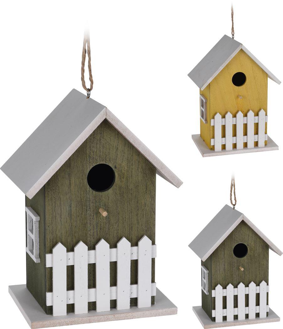vogelhuis hout (2ass.)