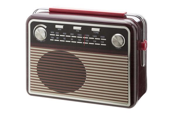 voorraaddoos design radio