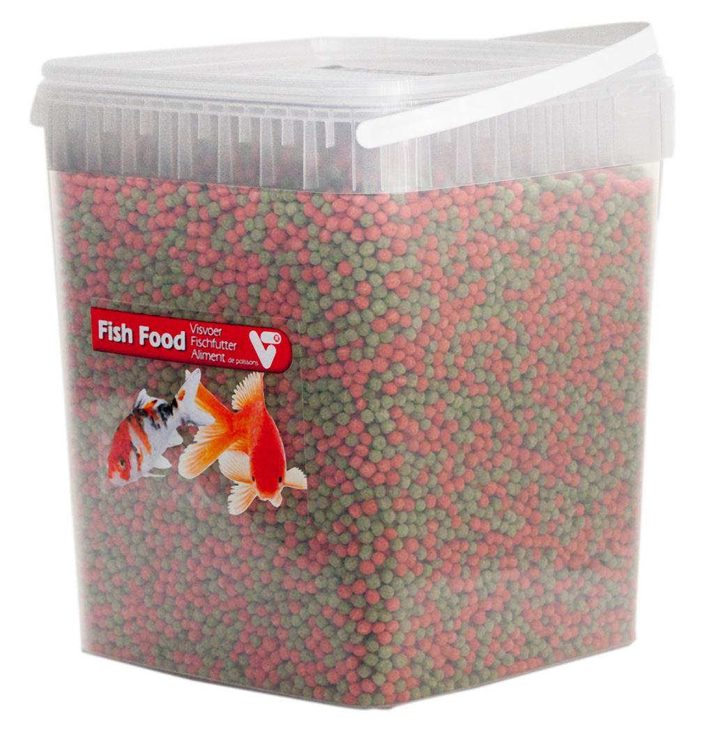 vijvertechniek vijvervisvoer 2-kleuren pellet 6mm