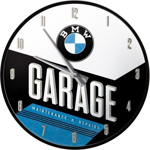 wall clock bmw garage