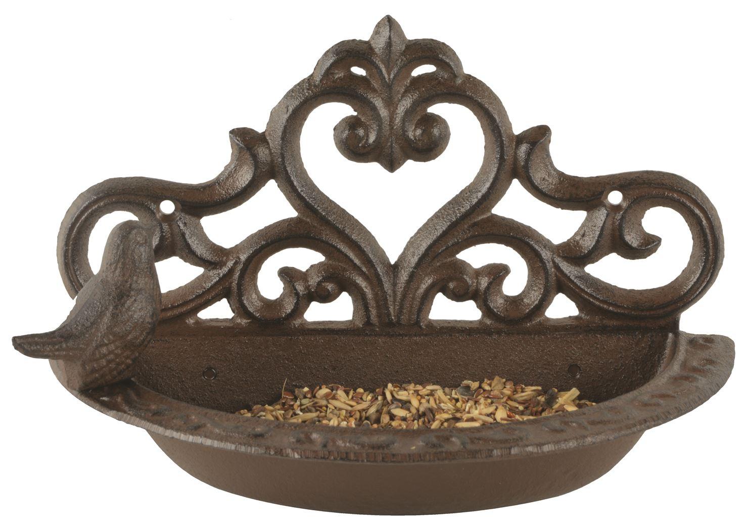 wand voederschaal vogel in giftbox