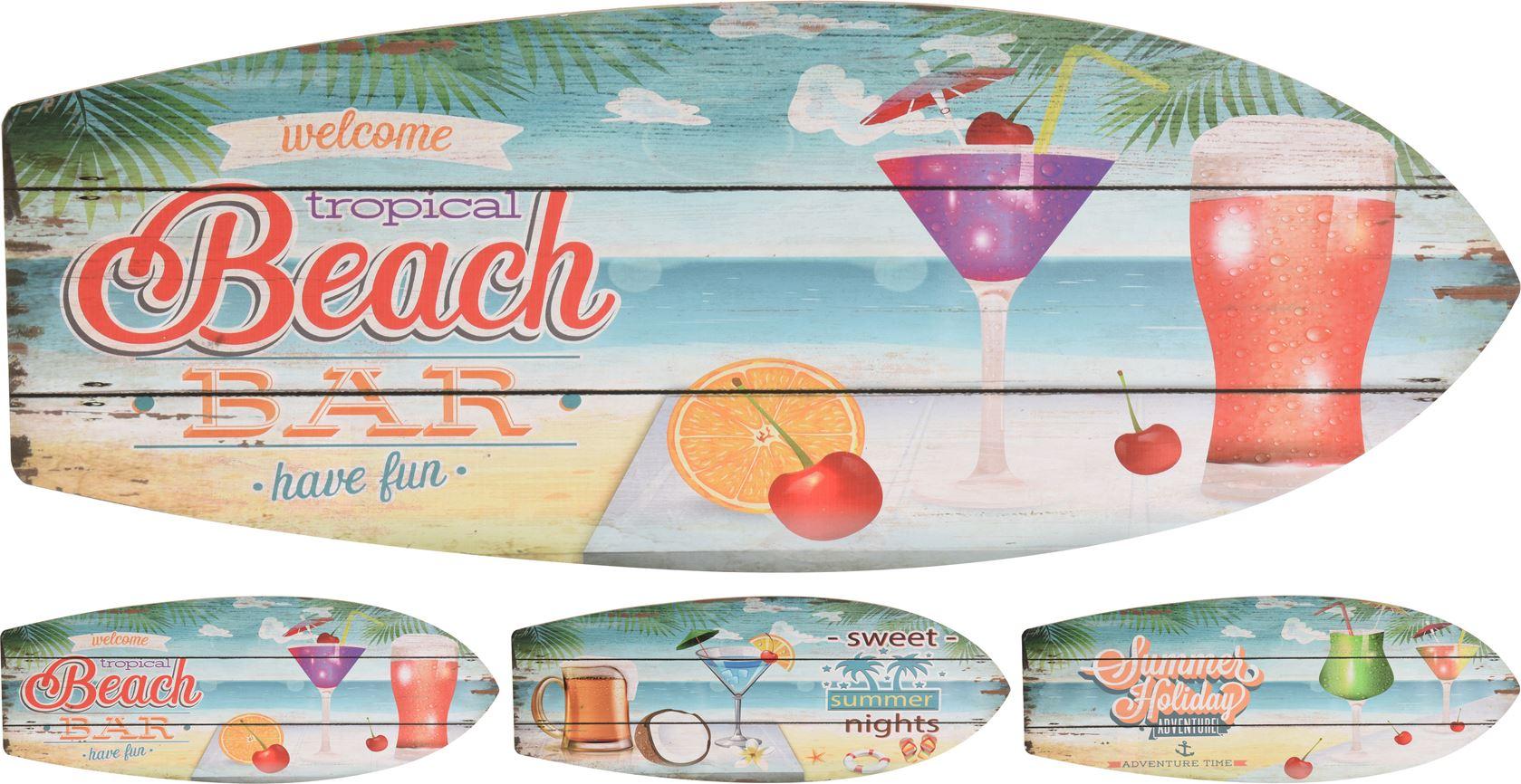 wanddecoratie bord hout drinks