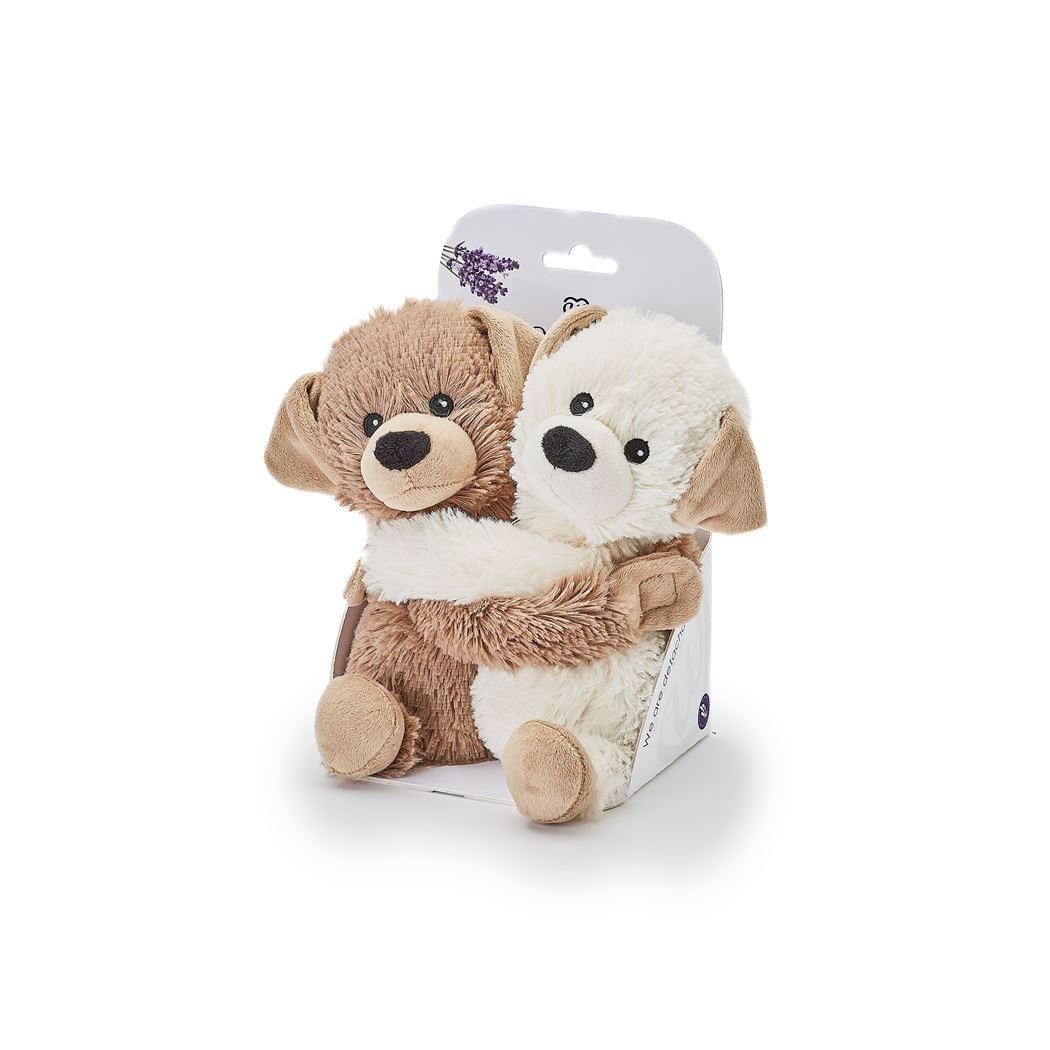 warmies knuffel hugs puppies