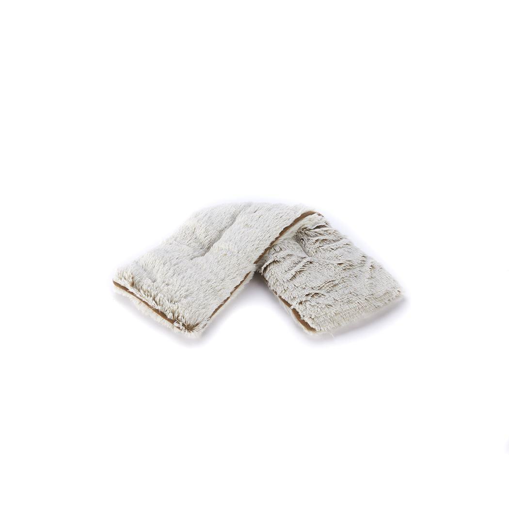 warmies nekwarmer neck wrap beige marshmallow