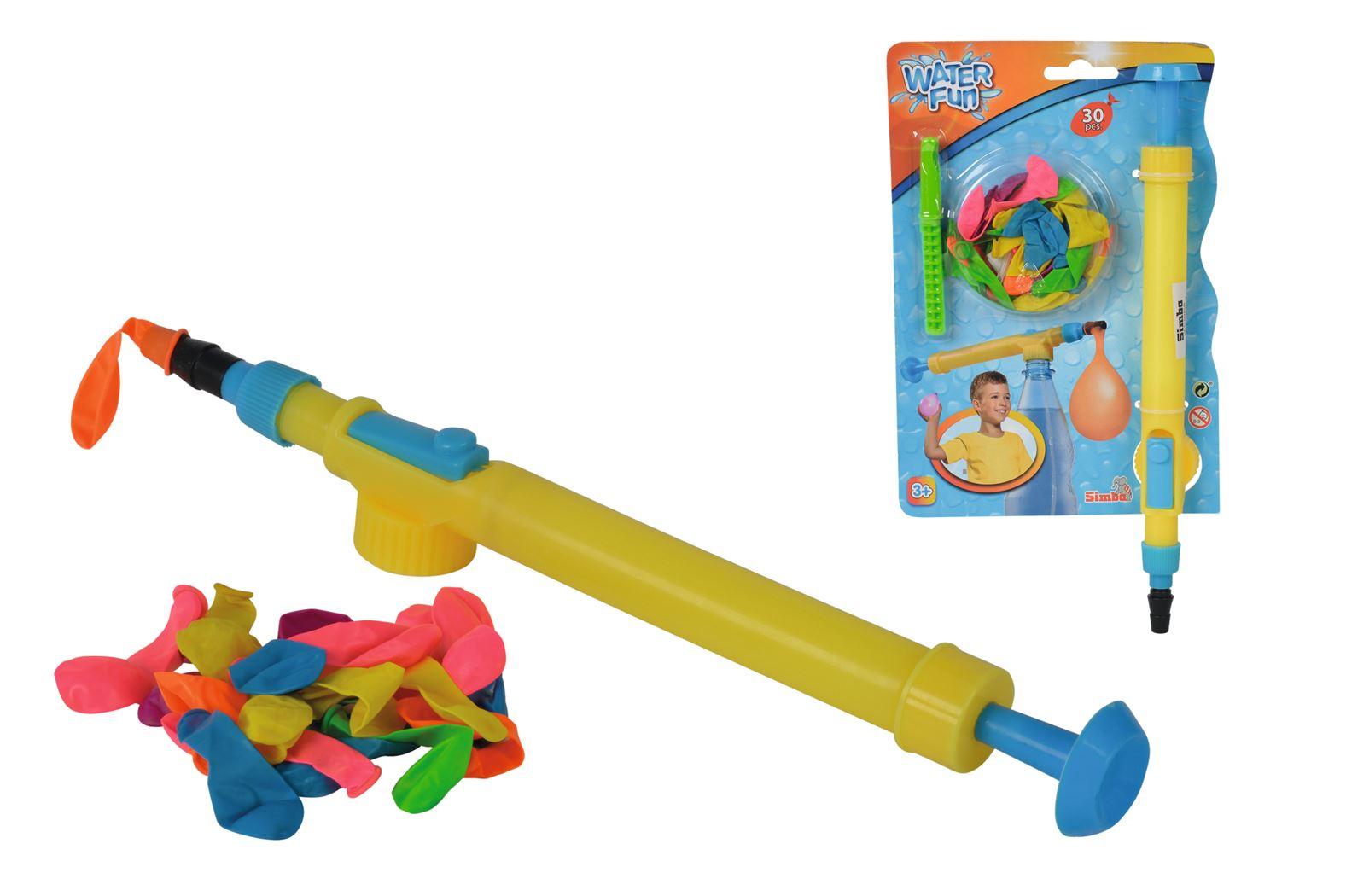 water fun - water bomb pump - 30 ballonnen
