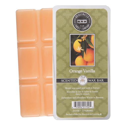 bridgewater geurwax bar orange vanilla