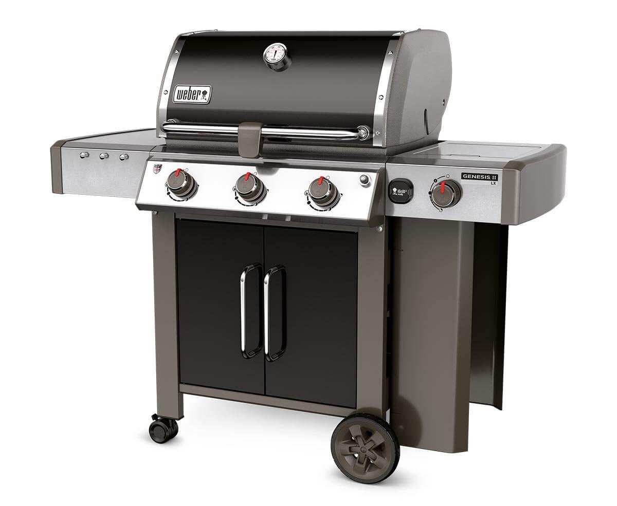 weber gasbarbecue genesis II lx e-340 gbs black