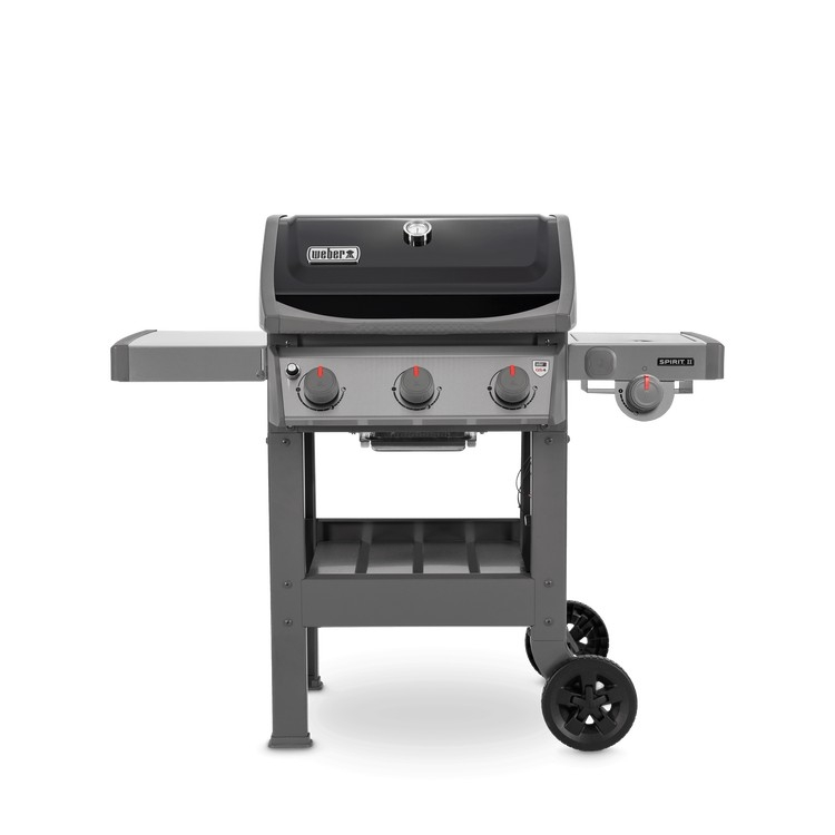 weber gasbarbecue spirit ii e-320, gbs, zwart