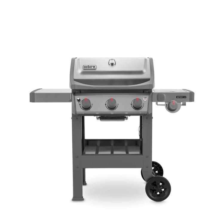 weber gasbarbecue spirit ii s-320, gbs, rvs