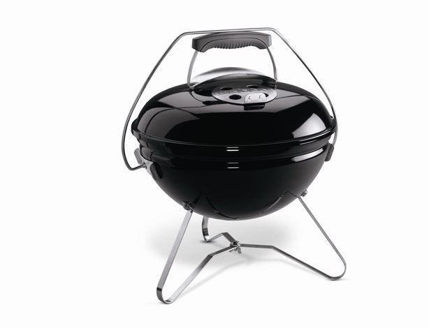 weber houtskoolbarbecue smokey joe premium black