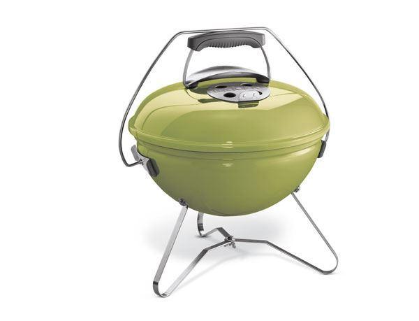 weber houtskoolbarbecue smokey joe premium spring green
