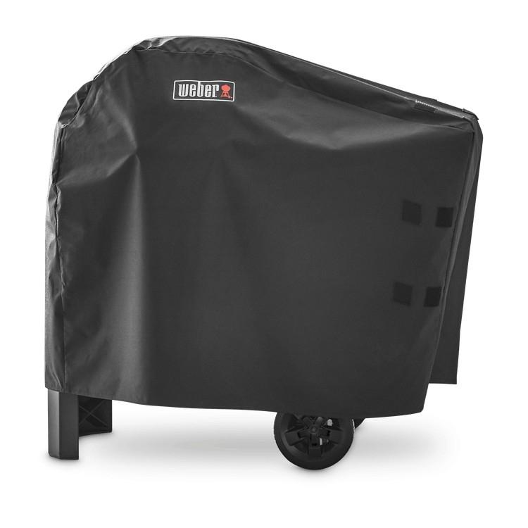 weber premium barbecuehoes voor pulse barbecue met onderstel