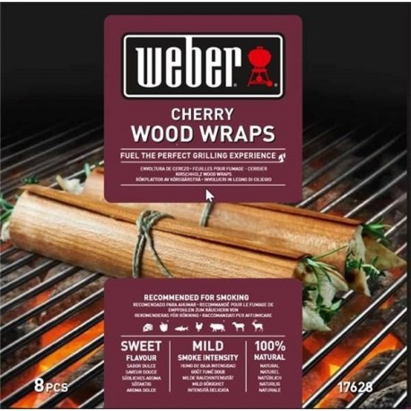 weber wood wraps cherry