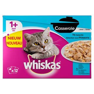 whiskas casserole junior vis selectie in gelei