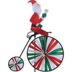 windspinner - crystal tail snowman red