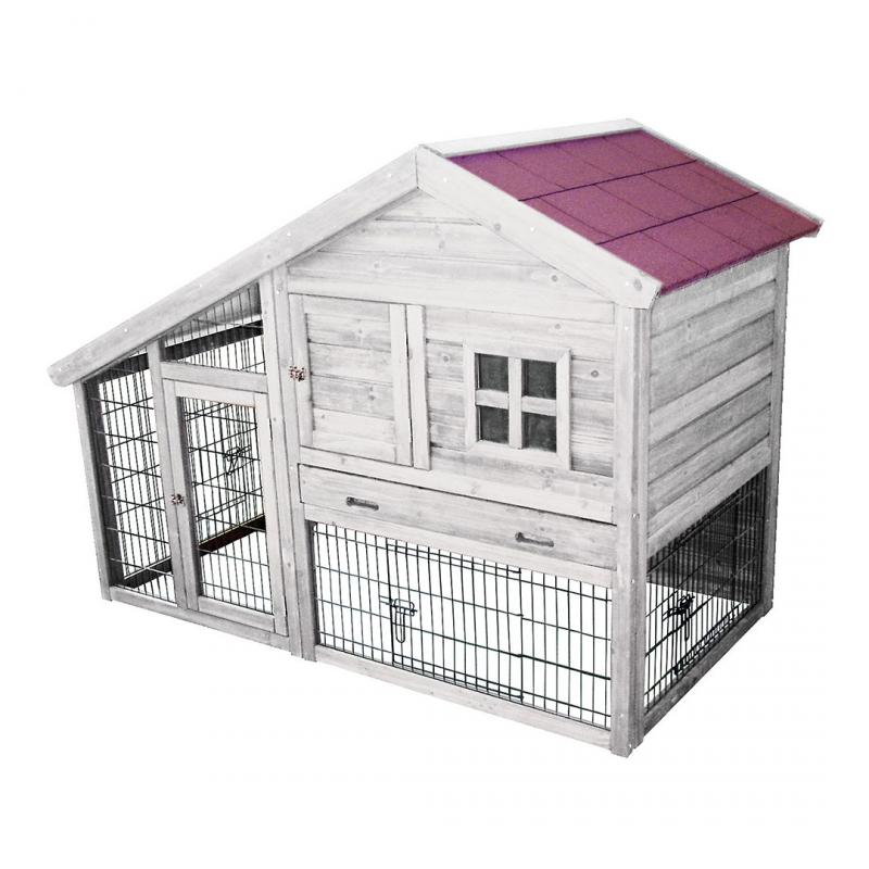 woodland konijnenhok tridolf cottage