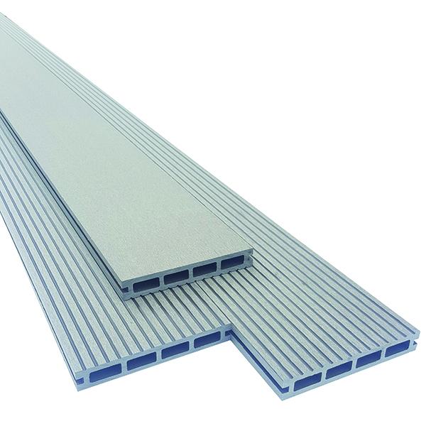 wpc composiet terrasplank grijs