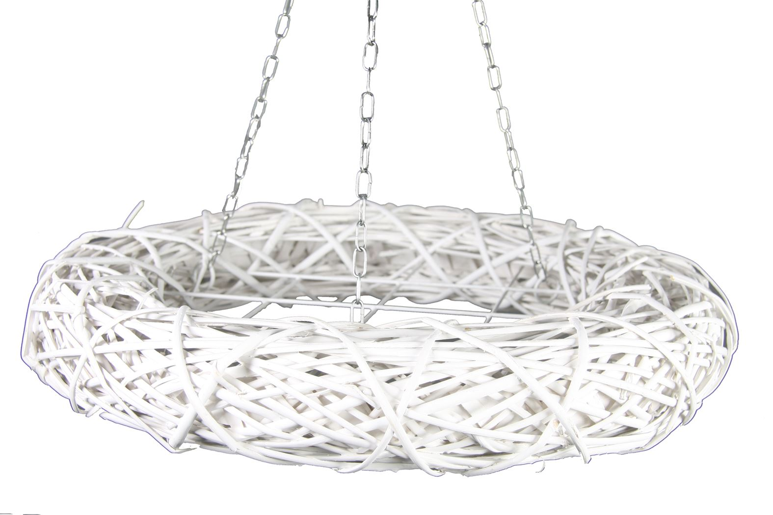 wreath hanger majority white wash rond l