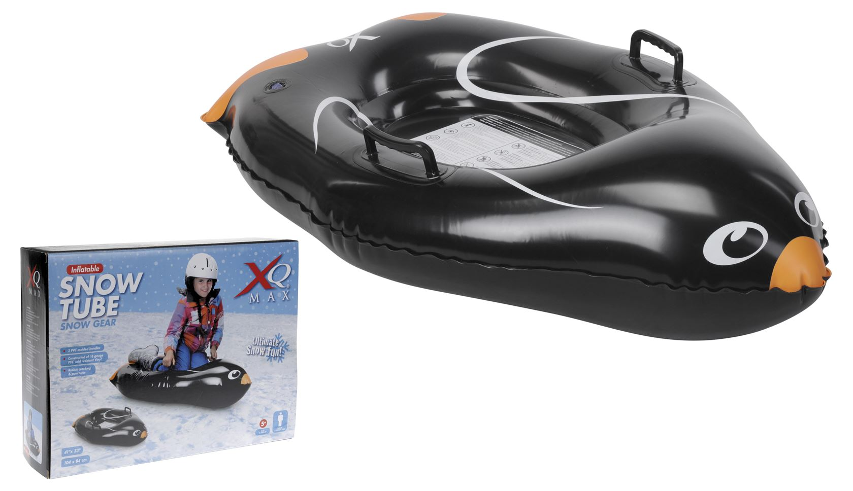 xq max snowtube design pinguin