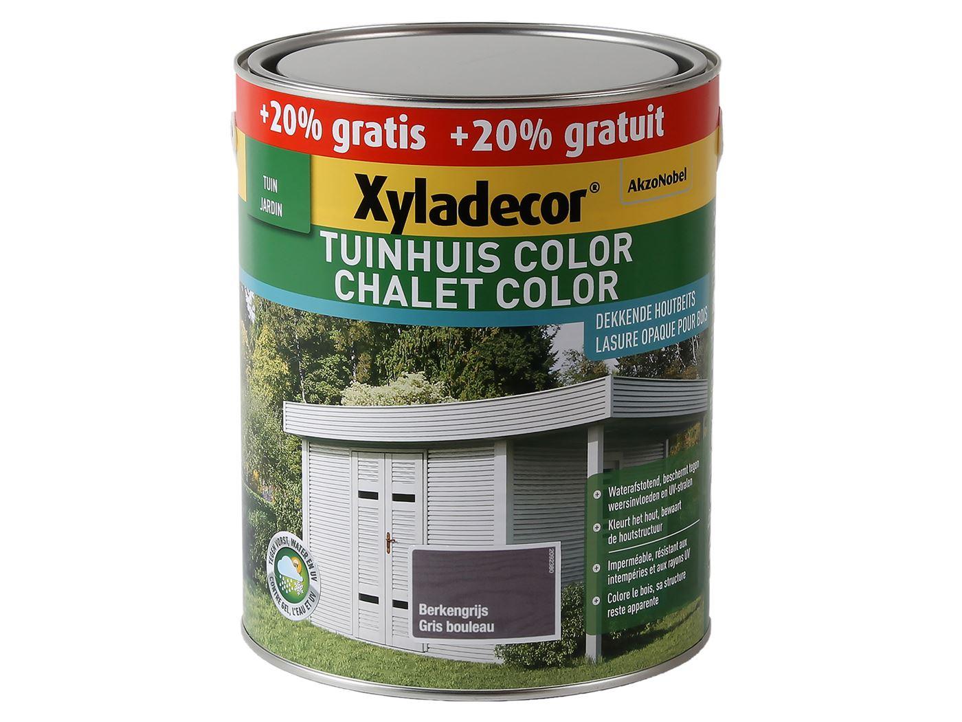 xyladecor tuinhuis color-berkengrijs