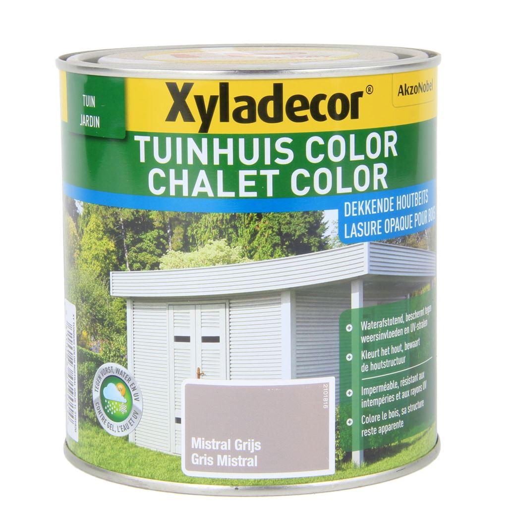 xyladecor tuinhuis color mistral grijs