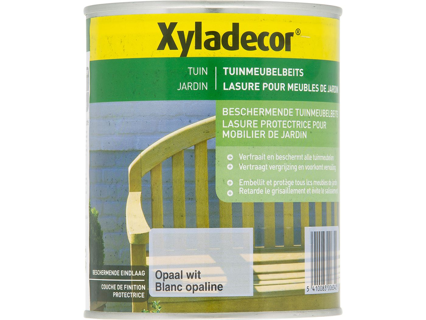 xyladecor tuinmeubelbeits-opaal wit