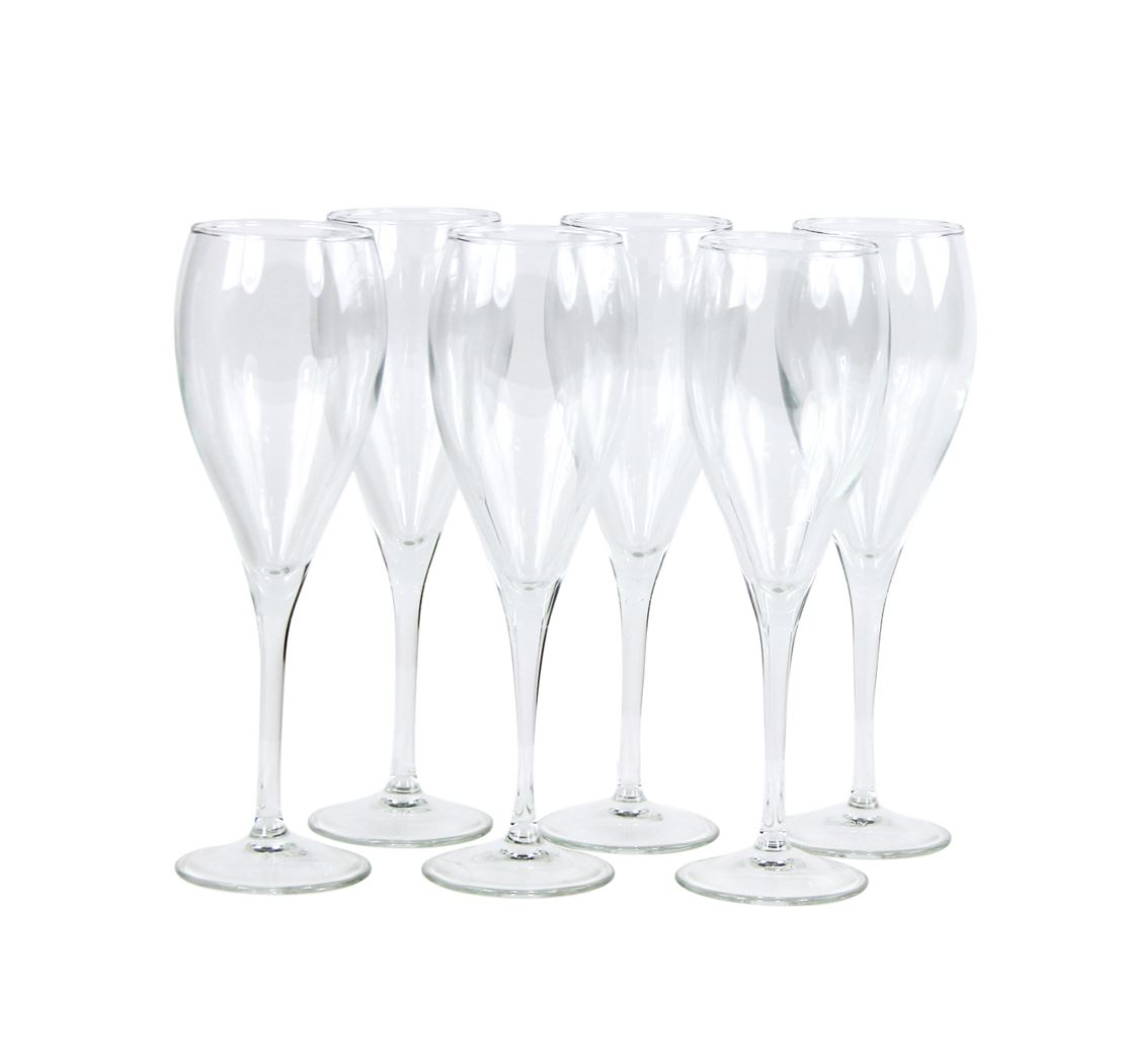 yong champagneglas punto (12sts)