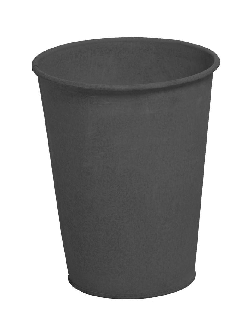 zinc vintage black pot