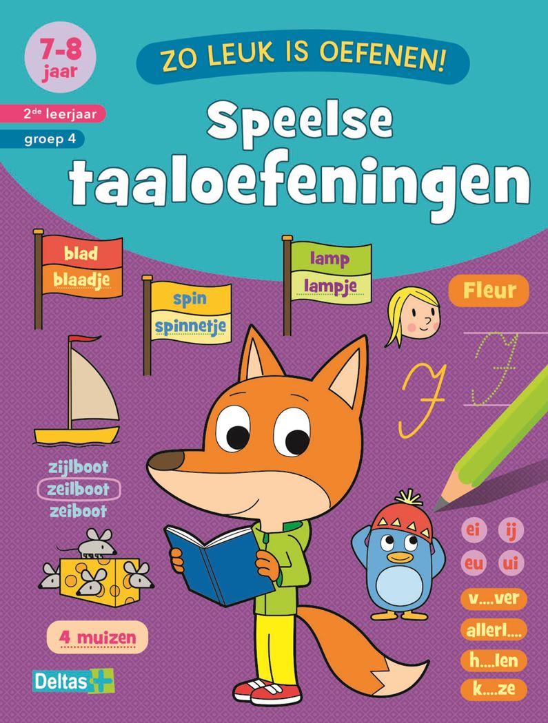 zo leuk is oefenen! speelse taaloefeningen (7-8 j.)
