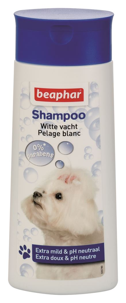 beaphar-shampoo-bubbels-hond-witte-vacht